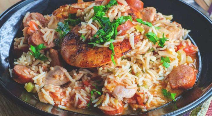 Receitas de arroz com calabresa
