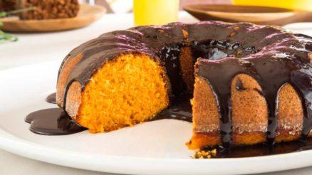 Receitas de bolo de cenoura fit