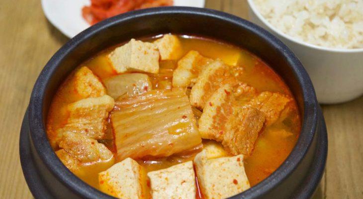 Receitas de sopa de kimchi