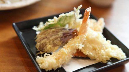 Receitas de tempurá