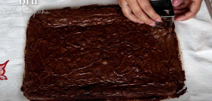 Brownie recheado