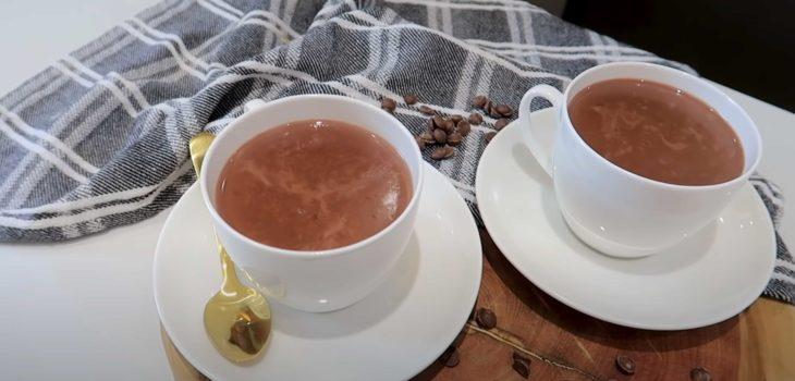 Chocolate quente de Nescau