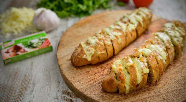 Pão de alho para festas